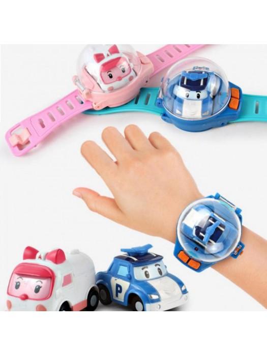 Детские часы на радиоуправлении Робокар Поли